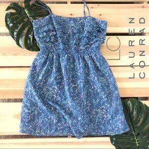 LC Lauren Conrad Summer Floral Ruffle Sundress